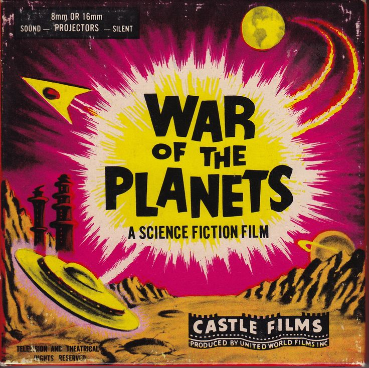 War of the Planets. | Super 8 Movie Reel Covers ...
