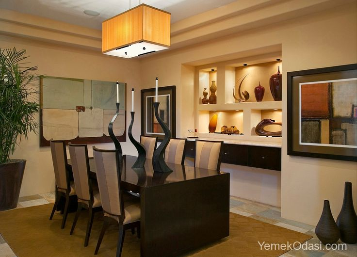Yemek Odası Niş Modelleri Yemek odasında yeni bir tarz olan niş modası, dekoratif bir duvar uygulaması olup duvar içerisinde yapılan oyuklara denir. Yemek odası niş modellerinde ise niş tarzı duvar dekorasyonunun yemek odasında ki uygulamalarıyla tanışacağız. Fotoğraflarımıza bakarken niş tarzı dekorasyon üzerine biraz k ... http://www.yemekodasi.com/yemek-odasi-nis-modelleri/