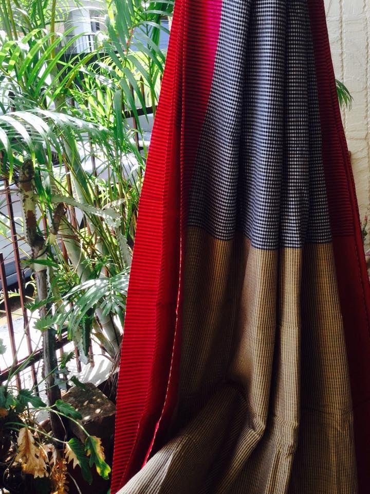 Cotton saree - Mulberry's: Pinned by Sujayita