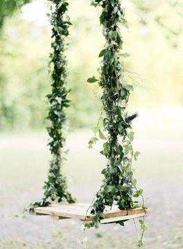 vine laced swing