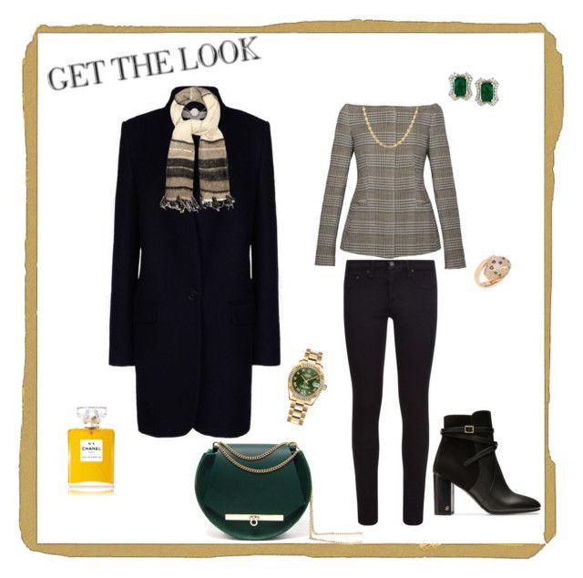 """Royal Style"" by lw8490 on Polyvore featuring STELLA McCARTNEY, Angela Valentine Handbags, rag & bone, Bally, Denis Colomb, Rolex, Gucci, Effy Jewelry and Chanel"