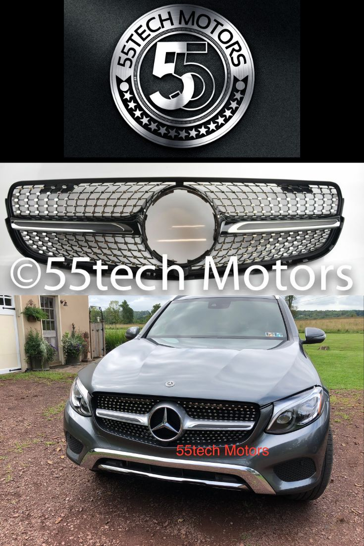 Mercedes Glc 2016 2018 Diamond Style Grille Style Mercedes Benz