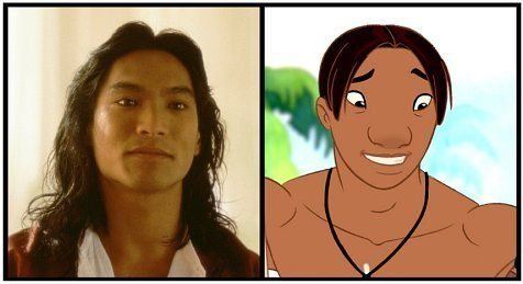 *DAVID KAWENA (played by: Jason Scott Lee) ~ Lilo & Stitch (2002)