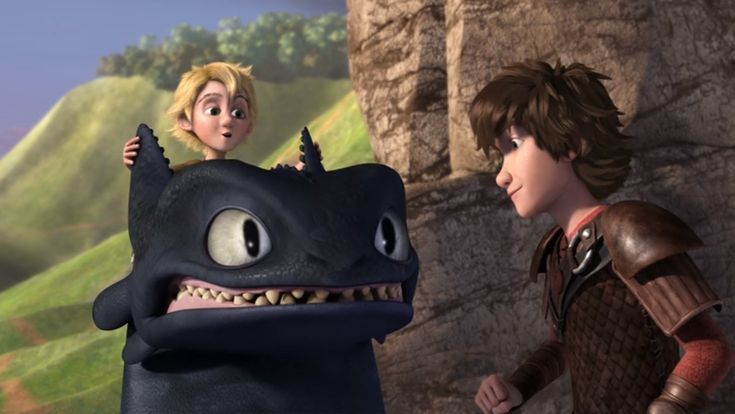 That look on Toothless face Rtte S6