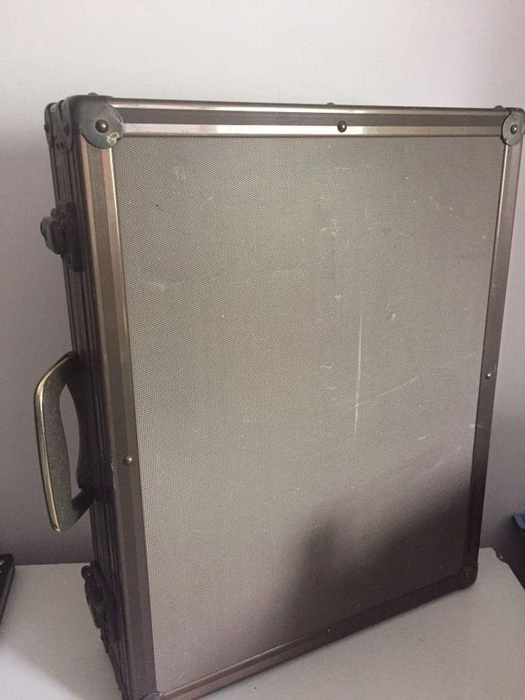 RARE Vintage Betamax VCR Recorder BETA Case METAL Briefcase Bronze Travel     eBay