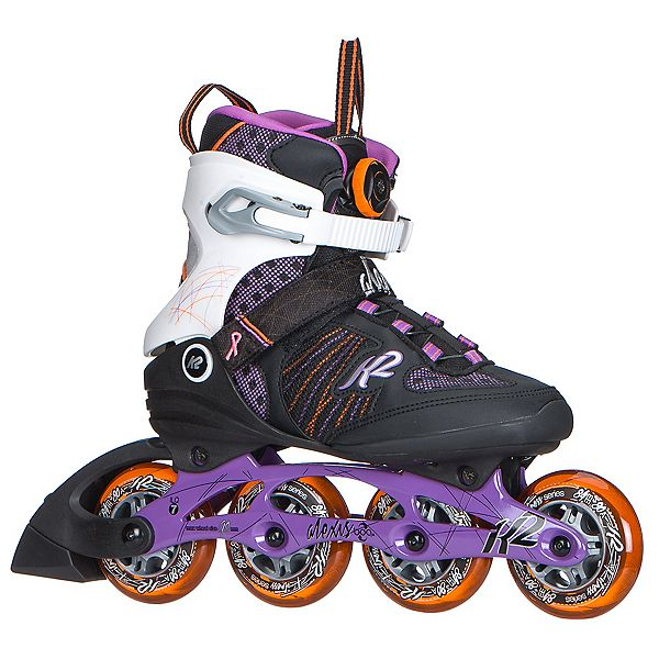 K2 Alexis Boa Womens Inline Skates 2017, Purple-Orange