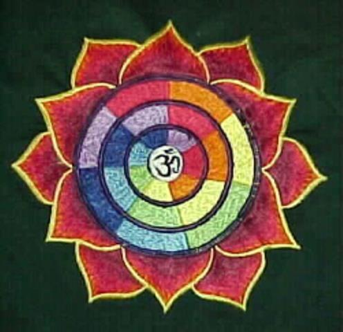 Petals Mandala with OM