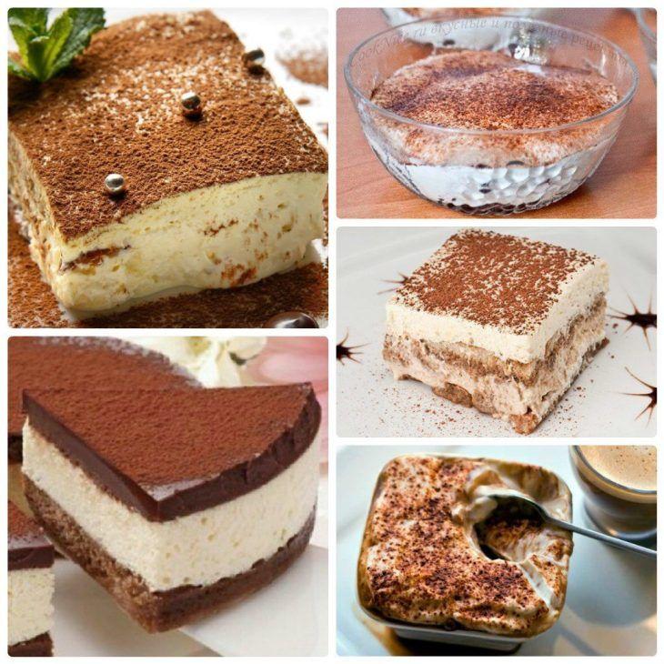 Рецепты лучших тортов тирамису