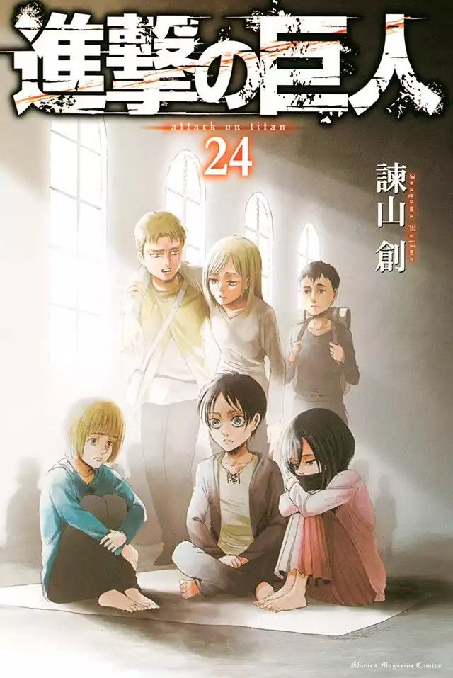Shingeki no Kyojin Chapter 99 - Chapter Cover. The parallelism and foreshadowing of soldiers and warriors.
