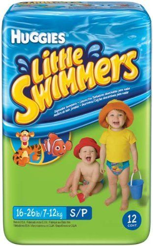 Huggies Little Swimmers Disposable Swim Diapers, Small, 12-Count by Huggies. $13.26. HUGGIES LITTLE SWIMMERS DIAPERS SMALL 12 PER PACK. Save 10% Off!