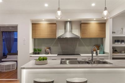 Aston milan homes caesarstone calacatta nuvo pinterest for Alby turner kitchen designs