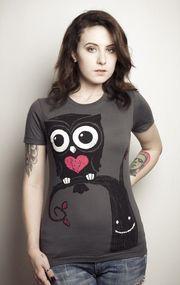 Akumu Ink- Night owl t-paita