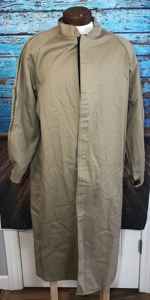 Steel Grip Arc Flash Jacket Sz L Large Long Tan KU7 8571-50    eBay