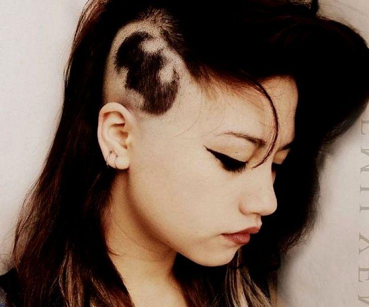 Undercut Hairstyle Women Long   Hairstyles Ideas