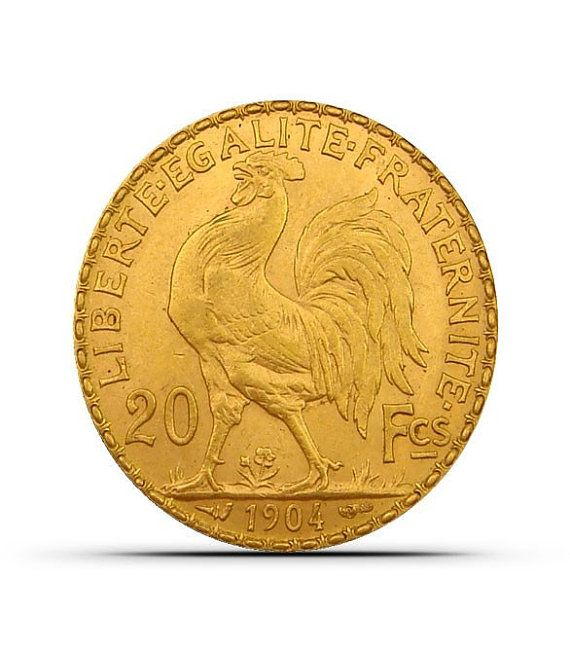 France 20 Franc Rooster Gold Coins AU or Better by SGBullion