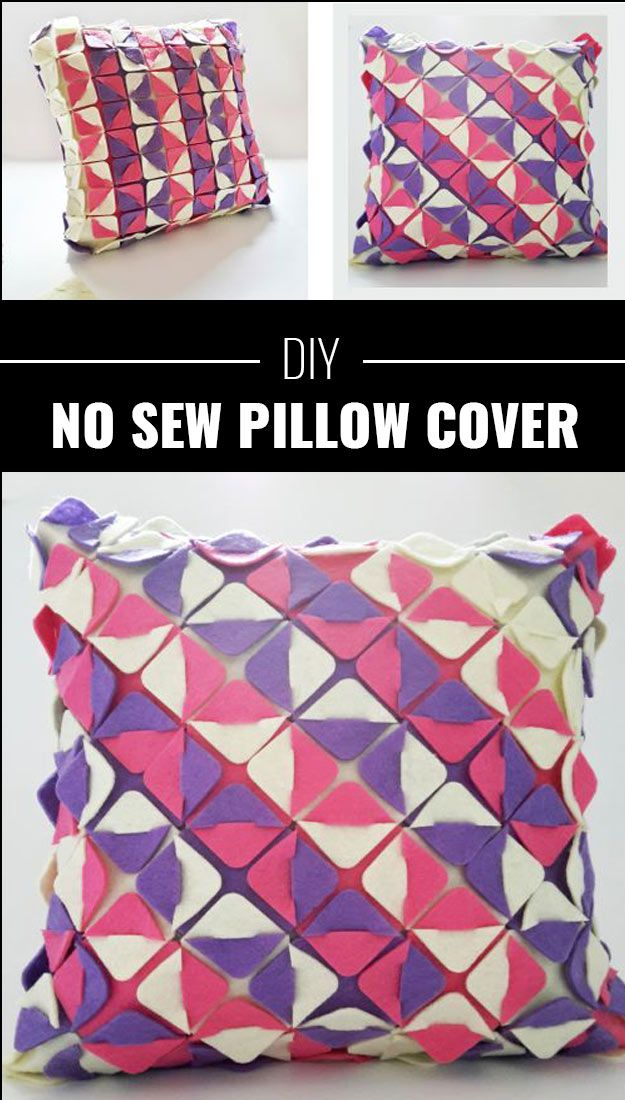 75 brilliant crafts to make and sell no sew pillow for Cute diys to sell