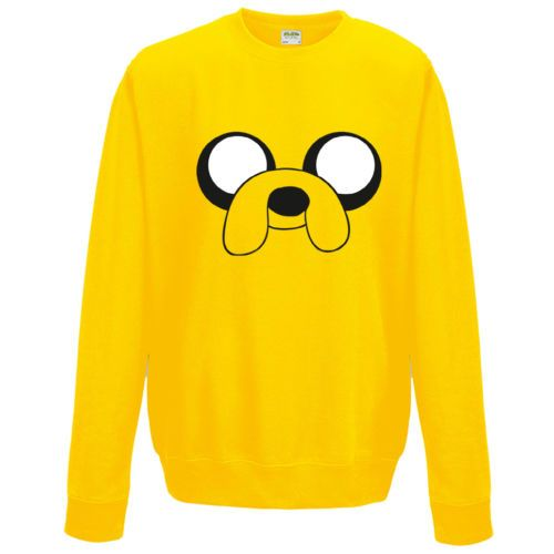 Adventure-Time-Jake-le-Chien-Sweat-Design-Inspire-Drole-pull-unisexe