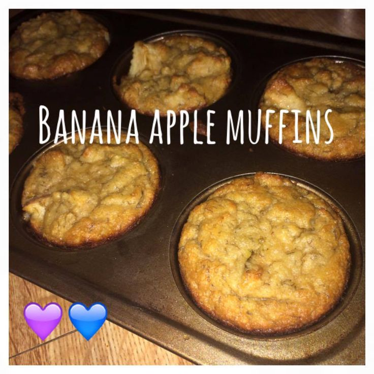 Serves 9 (1 muffin) Container Equivalents (per serving): 1 Purple, 1 Blue Ingredients 2 large eggs 1 cup mashed ripe bananas (about 2 medium bananas) 1 tablespoon organic butter, melted 1-1/2 cups …