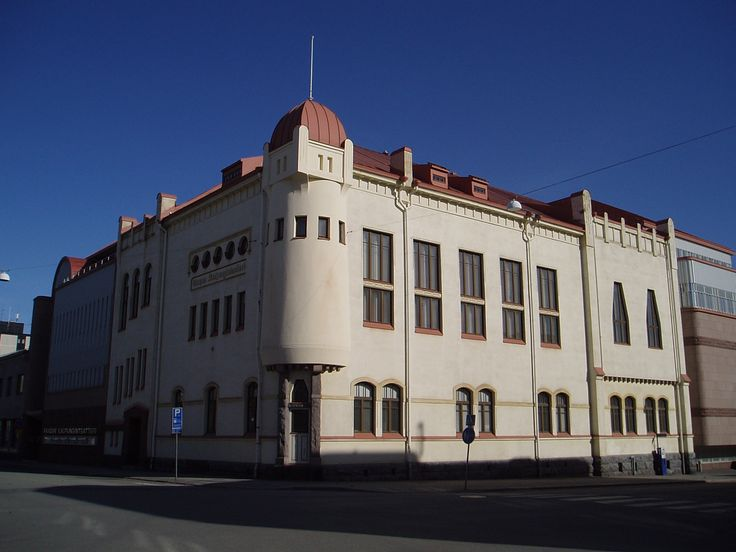 Jugend house in Vaasa, Finland. Vaasa City Theatre