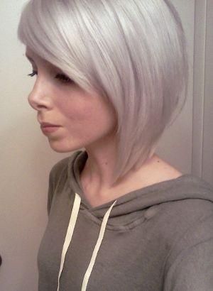 Stunning silver bob haircuts beauty makeup - Bob silberblond ...