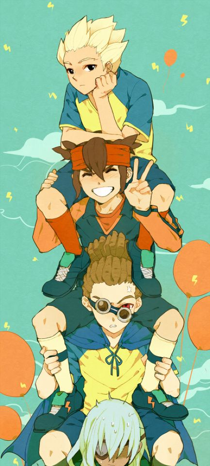 Inazuma Eleven :Axel is on the top))