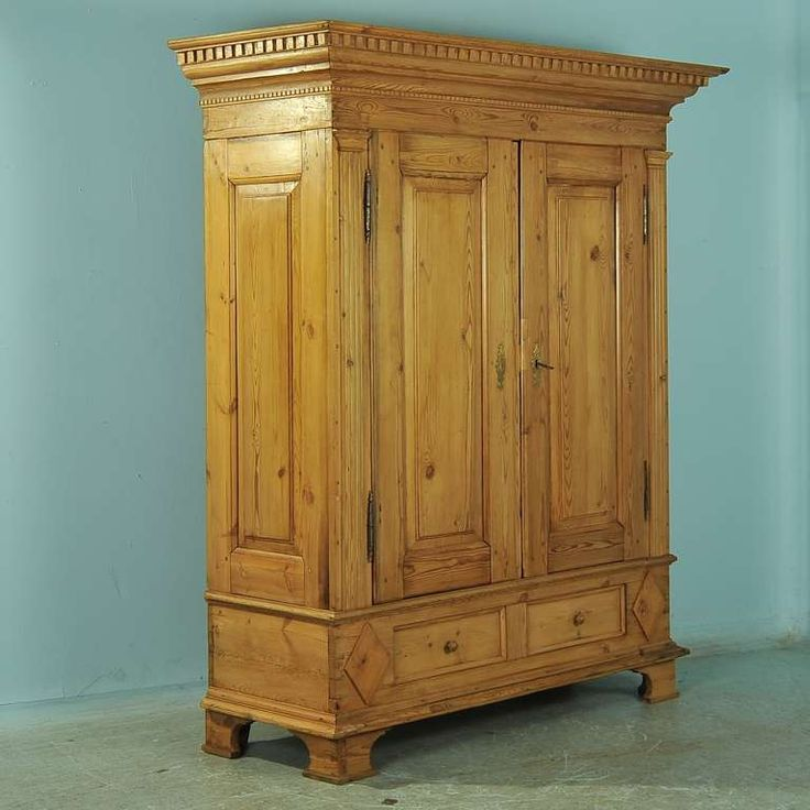 antique large pine armoire denmark circa 1850 70 louis xvi antiques and furniture. Black Bedroom Furniture Sets. Home Design Ideas