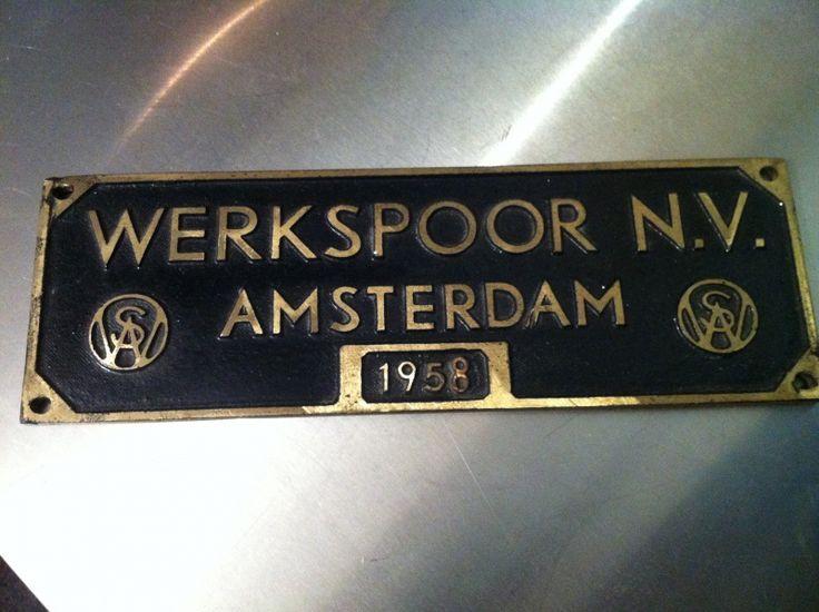 Werkspoor Amsterdam 1958
