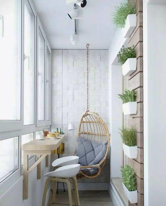 Идеи для оформления небольших балконов