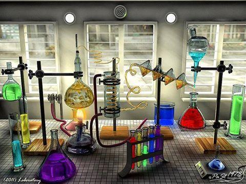Colorful Chemistry Lab Our Portal Worldofchemicals Deals