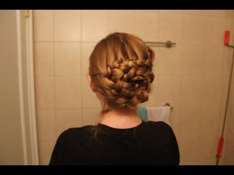 She's a little unwieldy in her descriptions, and if you are not an expert braider I wouldn't try this, but I think It's still very beautiful and a great formal events braid.