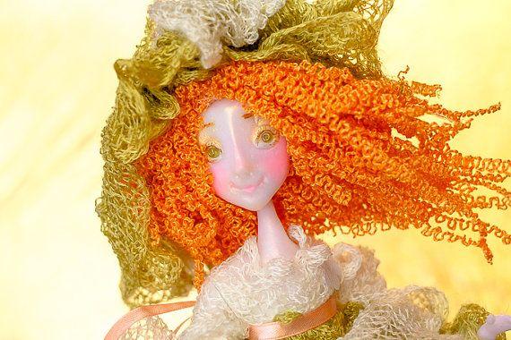 SALE OOAK fairy doll OOAK doll art doll for play angel by Chydiki