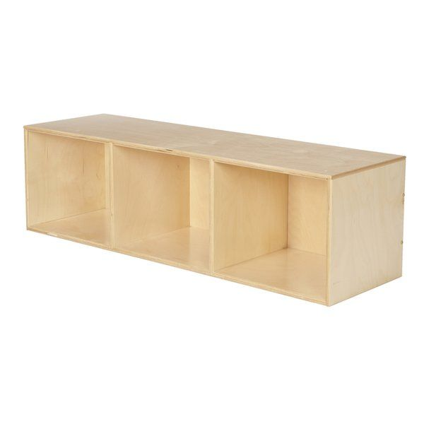 Stackable 3 Compartment Cubby Diy Storage Bench Diy Cubbies Storage Cubby Bins