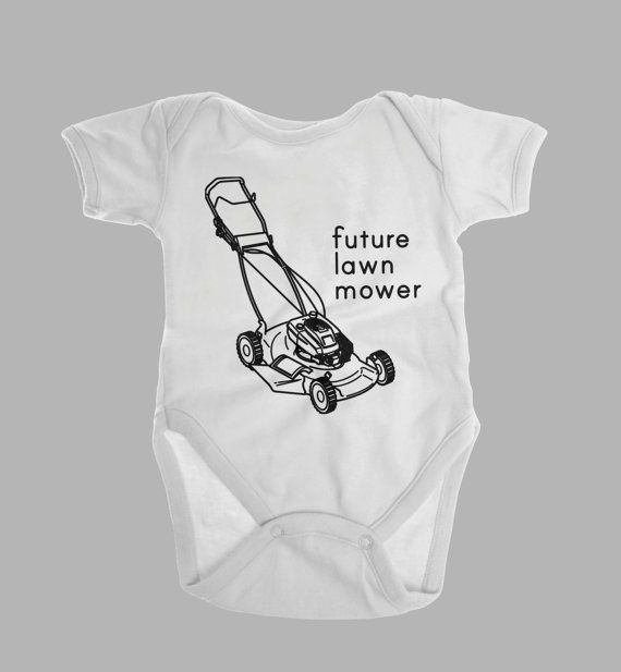 Lawn Mower Shirt, Gifts for New Daddy, Baby Boy Clothes, Future Lawnmower, Funny Baby Clothes, Baby Boy Shower, Toddler Boy Clothes