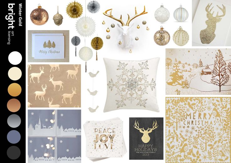 Winter Gold - No more shiny metalics, we are going muted, subtle and sophisticated. Mix golds with silver and whites for the perfect winter indulgence!
