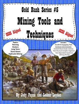 Gold Rush Series #5- Mining Tools and Techniques
