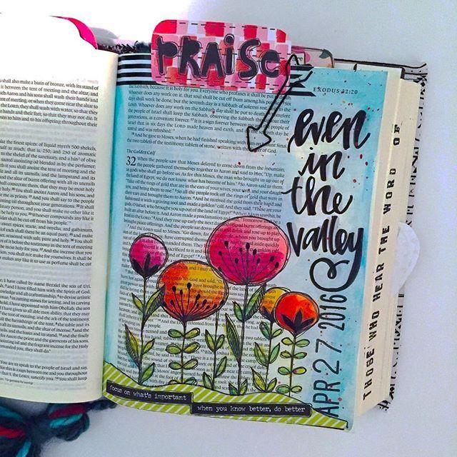 Bible Journaling by Kristen Wolbach @kristenwolbach | Exodus 32