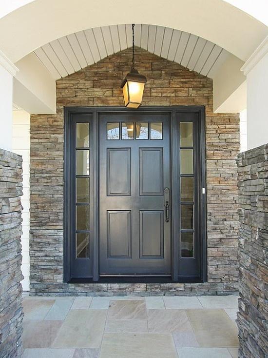 Superb Black Exterior Door 8 Black Front Door Home Depot: 17 Best Ideas About Exterior Front Doors On Pinterest