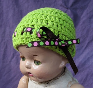 FREE PATTERN Breezybot Ribbon Baby Beanie
