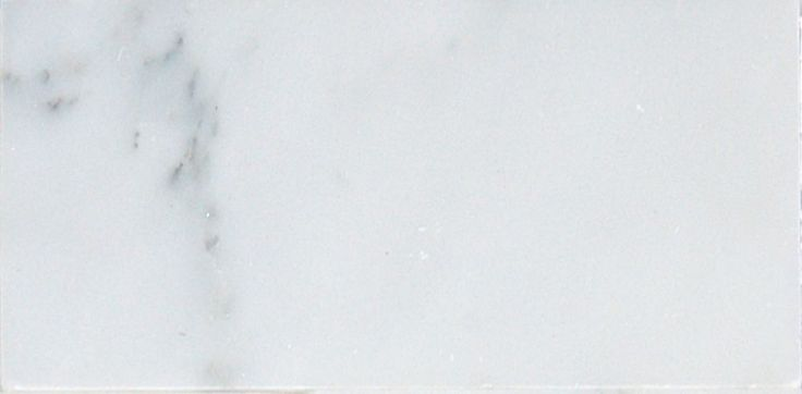 Greecian White 3 in. x 6 in. Polished Marble Floor & Wall Tile-( (1 Sq. Ft./Case)