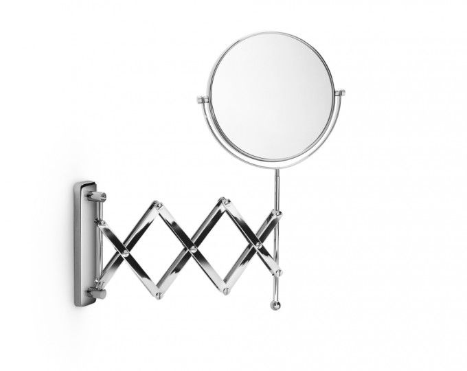 #Lineabeta #Mevedo magnifying #mirror 55855.29 | #Modern #Brass | on #bathroom39.com at 160 Euro/pc | #accessories #bathroom #complements #items #gadget