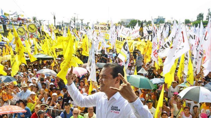 Juan Zepeda es la revelación en la elecciones del Estado de México.