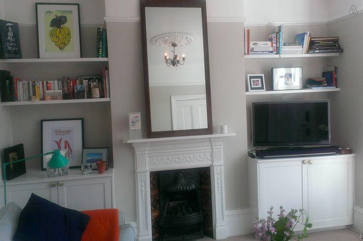 Sitting Room - F&B Cornforth White walls?