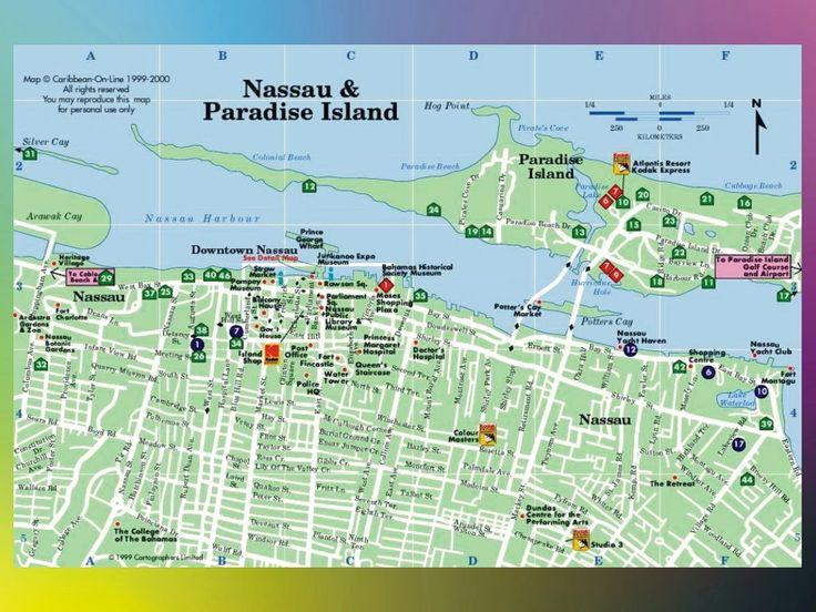 Maps Bahamas Paradise Island