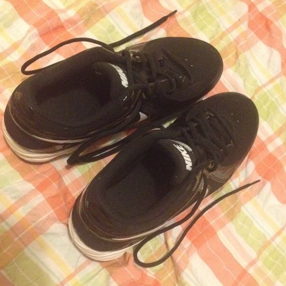 Nikes Cleats These are in fantastic condition. They have been washed and scrubbed although only work once or twice and they smell like store again. Nike Shoes Athletic Shoes