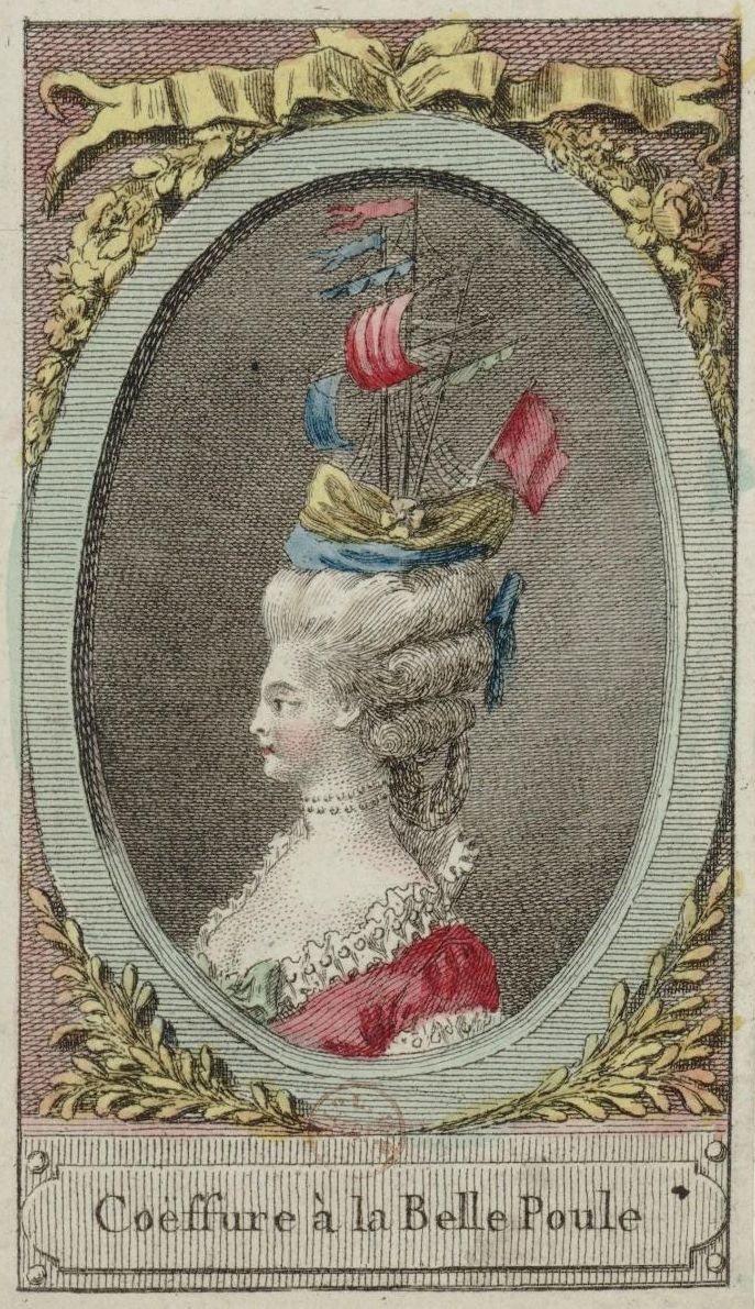 Marie Antoinette and her extravagant hairstyles