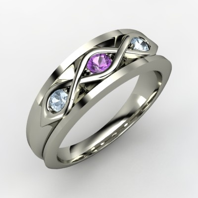 Love this- with a stone change to make it a family ring