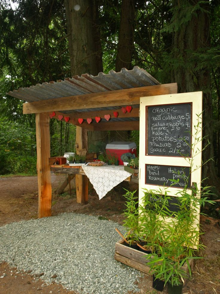 Roadside Stand Designs : Farm stand for the homestead pinterest