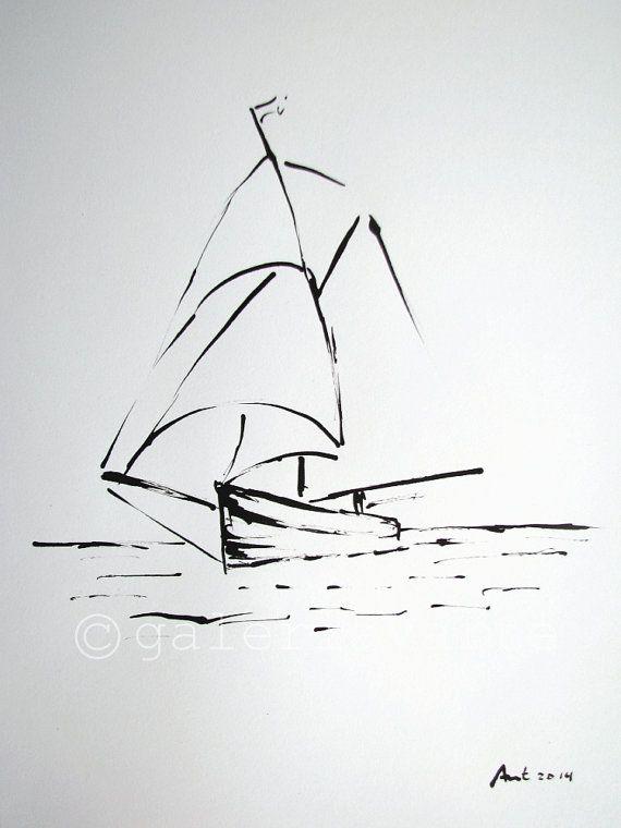 Dessin original voilier europeanstreetteam par galeriaVarte                                                                                                                                                      Plus