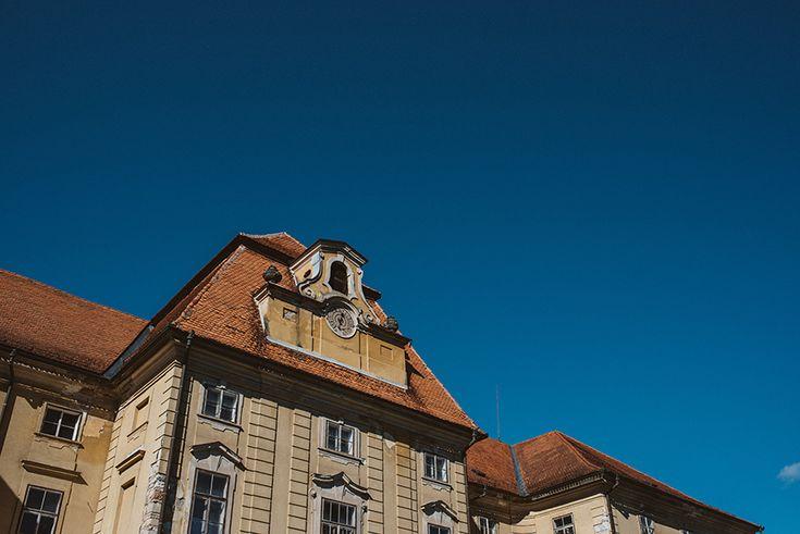 The old baroque mansion Novo Celje