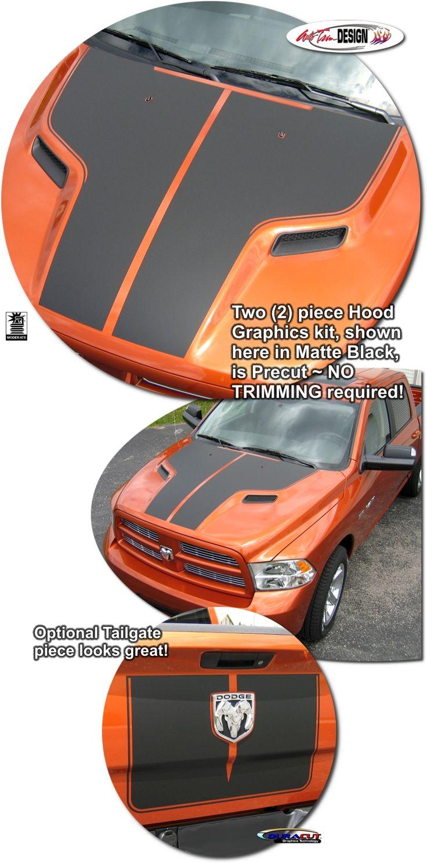Dodge Ram 1500 Sport Performance Hood Graphics Kit 2009-2016